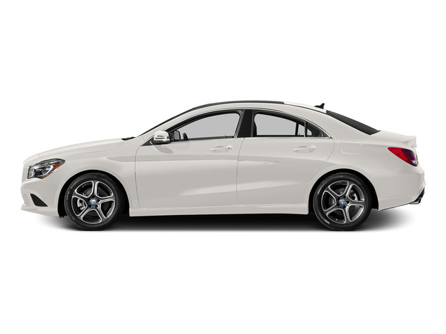 Cirrus White 2015 Mercedes-Benz CLA-Class Pictures CLA-Class Sedan 4D CLA250 AWD I4 Turbo photos side view
