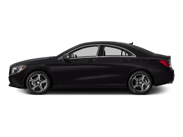 Night Black 2015 Mercedes-Benz CLA-Class Pictures CLA-Class Sedan 4D CLA250 AWD I4 Turbo photos side view