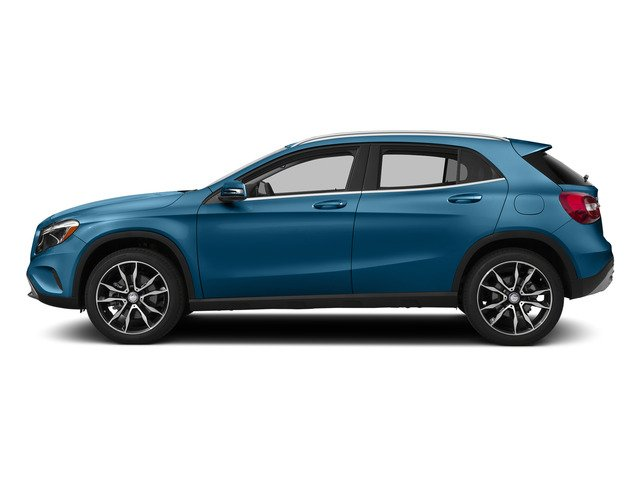 South Seas Blue Metallic 2015 Mercedes-Benz GLA-Class Pictures GLA-Class Utility 4D GLA250 AWD I4 Turbo photos side view