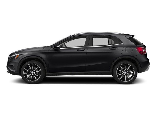 Cosmos Black Metallic 2015 Mercedes-Benz GLA-Class Pictures GLA-Class Utility 4D GLA250 AWD I4 Turbo photos side view