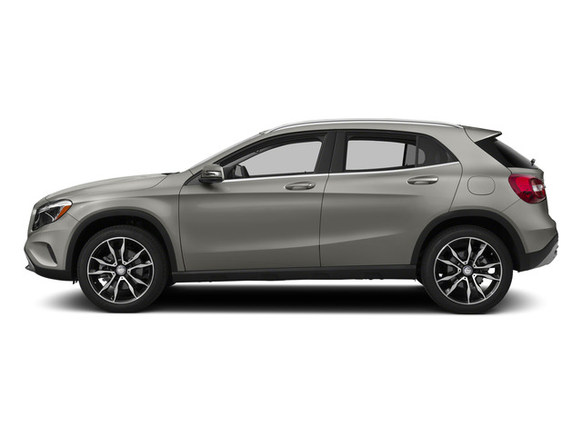 Polar Silver Metallic 2015 Mercedes-Benz GLA-Class Pictures GLA-Class Utility 4D GLA250 AWD I4 Turbo photos side view