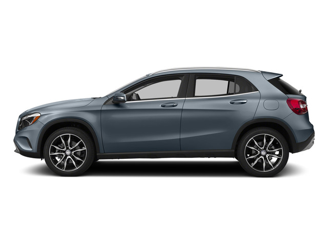 Universe Blue Metallic 2015 Mercedes-Benz GLA-Class Pictures GLA-Class Utility 4D GLA250 AWD I4 Turbo photos side view