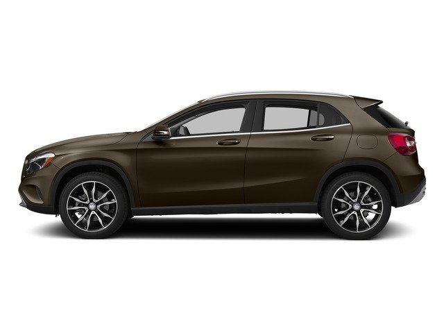 Cocoa Brown Metallic 2015 Mercedes-Benz GLA-Class Pictures GLA-Class Utility 4D GLA250 AWD I4 Turbo photos side view