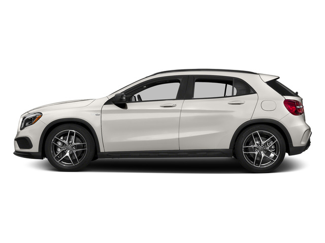 Cirrus White 2015 Mercedes-Benz GLA-Class Pictures GLA-Class Utility 4D GLA45 AMG AWD I4 Turbo photos side view