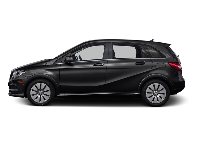 Night Black 2015 Mercedes-Benz B-Class Pictures B-Class Hatchback 5D Electric Drive photos side view