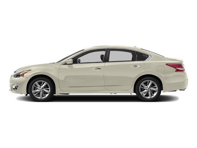 Pearl White 2015 Nissan Altima Pictures Altima Sedan 4D SV I4 photos side view