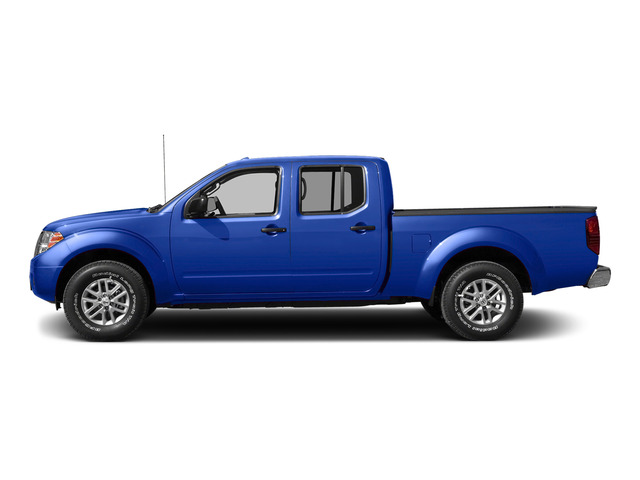 Metallic Blue 2015 Nissan Frontier Pictures Frontier Crew Cab SV 2WD photos side view
