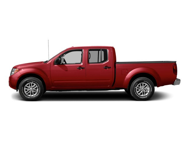 Lava Red 2015 Nissan Frontier Pictures Frontier Crew Cab SV 2WD photos side view