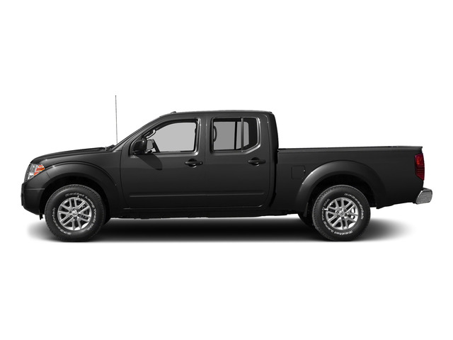 Super Black 2015 Nissan Frontier Pictures Frontier Crew Cab SV 2WD photos side view