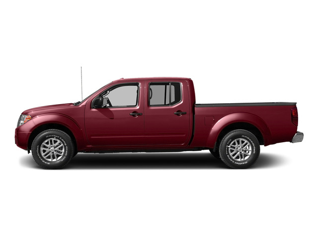 Cayenne Red 2015 Nissan Frontier Pictures Frontier Crew Cab SV 2WD photos side view