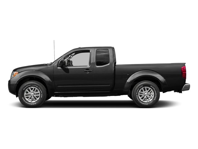 Super Black 2015 Nissan Frontier Pictures Frontier King Cab S 2WD photos side view