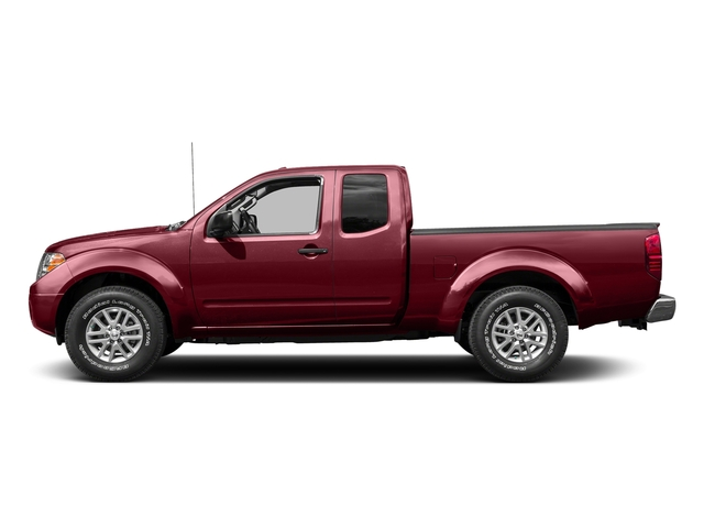Cayenne Red 2015 Nissan Frontier Pictures Frontier King Cab S 2WD photos side view