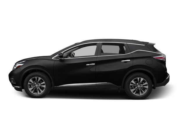 Magnetic Black Metallic 2015 Nissan Murano Pictures Murano Utility 4D S 2WD V6 photos side view