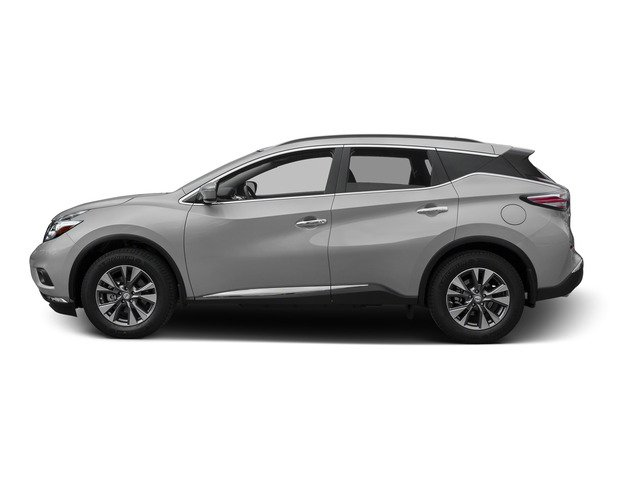 Brilliant Silver Metallic 2015 Nissan Murano Pictures Murano Utility 4D SV 4WD V6 photos side view