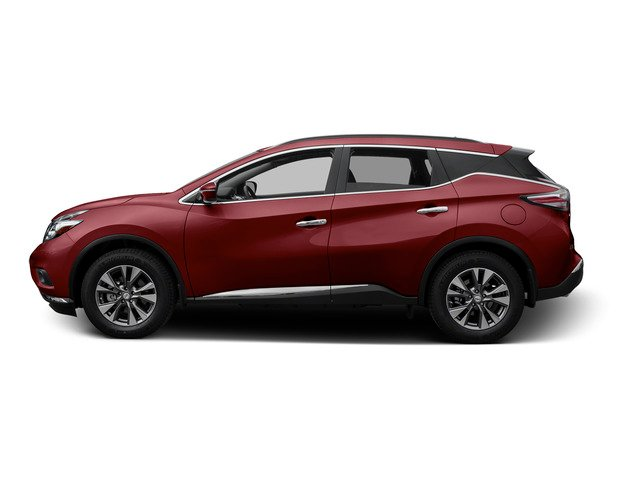 Cayenne Red Metallic 2015 Nissan Murano Pictures Murano Utility 4D SV 4WD V6 photos side view