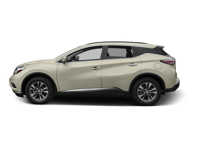 Pearl White 2015 Nissan Murano Pictures Murano Utility 4D S 2WD V6 photos side view