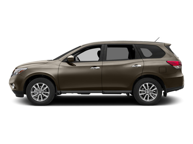 Java Metallic 2015 Nissan Pathfinder Pictures Pathfinder Utility 4D S 4WD V6 photos side view