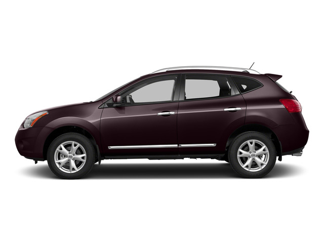 Black Amethyst 2015 Nissan Rogue Select Pictures Rogue Select Utility 4D S 2WD I4 photos side view