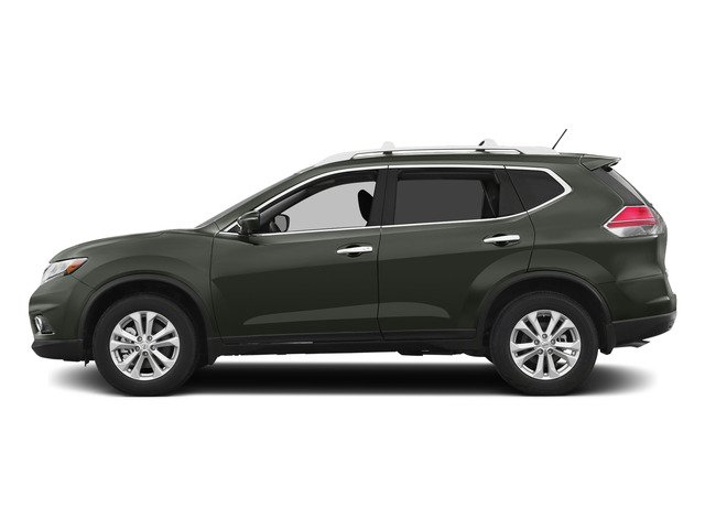 Midnight Jade 2015 Nissan Rogue Pictures Rogue Utility 4D SV AWD I4 photos side view