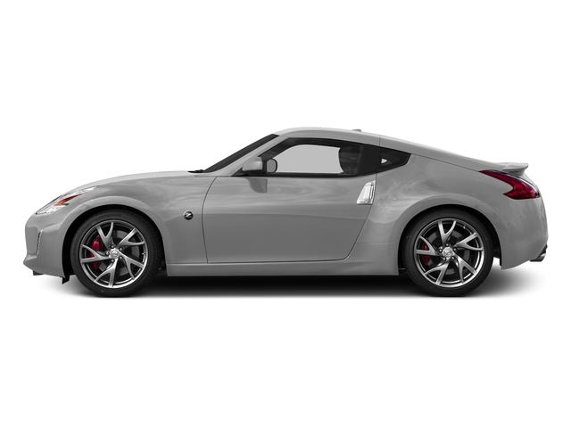 Brilliant Silver Metallic 2015 Nissan 370Z Pictures 370Z Coupe 2D V6 photos side view