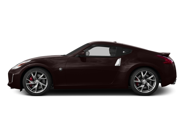 Black Cherry Metallic 2015 Nissan 370Z Pictures 370Z Coupe 2D V6 photos side view