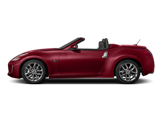 Solid Red 2015 Nissan 370Z Pictures 370Z Roadster 2D Touring Sport V6 photos side view
