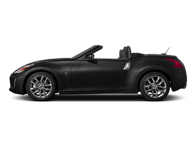 Magnetic Black Metallic 2015 Nissan 370Z Pictures 370Z Roadster 2D Touring Sport V6 photos side view