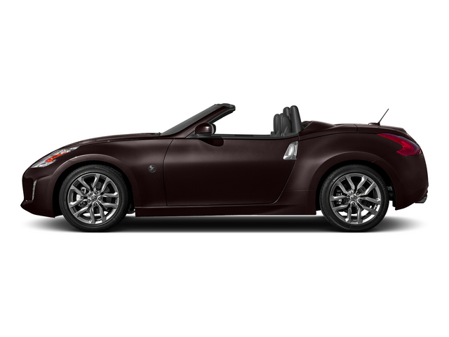 Black Cherry Metallic 2015 Nissan 370Z Pictures 370Z Roadster 2D Touring Sport V6 photos side view