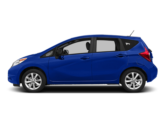 Metallic Blue 2015 Nissan Versa Note Pictures Versa Note Hatchback 5D Note S Plus I4 photos side view