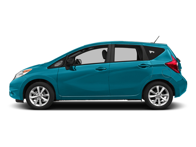 Metallic Peacock 2015 Nissan Versa Note Pictures Versa Note Hatchback 5D Note S Plus I4 photos side view