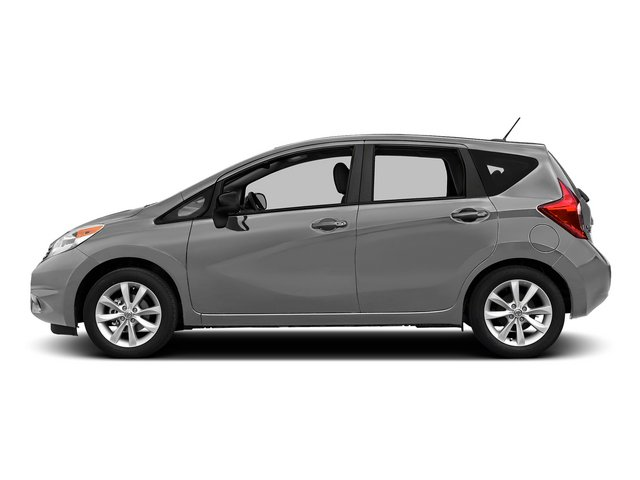 Brilliant Silver Metallic 2015 Nissan Versa Note Pictures Versa Note Hatchback 5D Note S Plus I4 photos side view