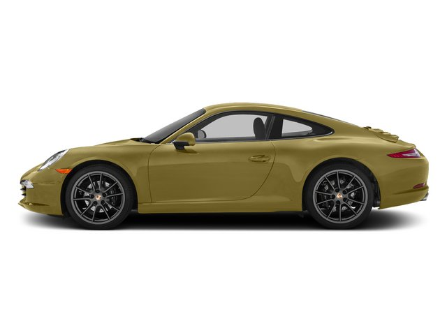 Lime Gold Metallic 2015 Porsche 911 Pictures 911 Coupe 2D 4 AWD H6 photos side view