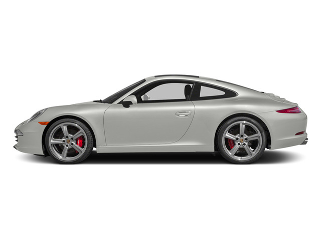 White 2015 Porsche 911 Pictures 911 2 Door Coupe photos side view
