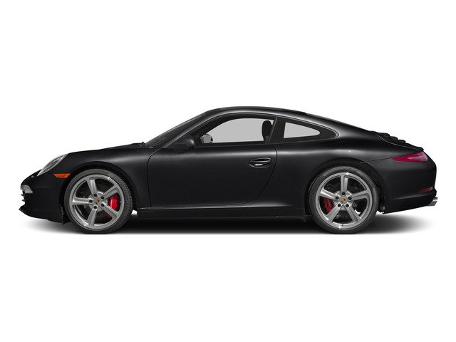 Black 2015 Porsche 911 Pictures 911 Coupe 2D S H6 photos side view
