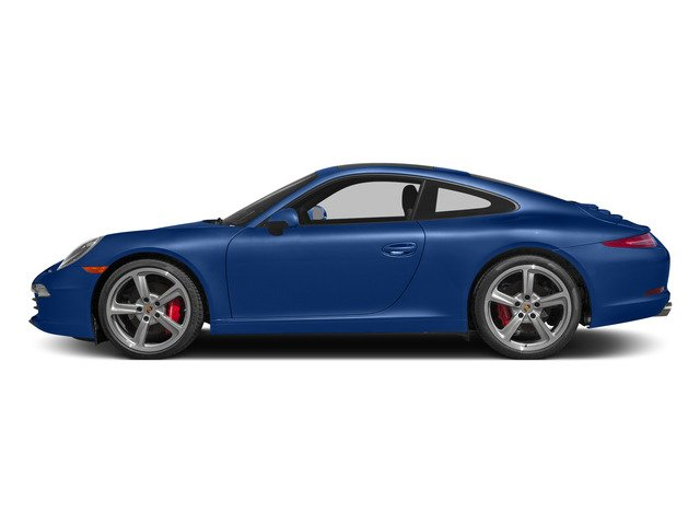 Sapphire Blue Metallic 2015 Porsche 911 Pictures 911 Coupe 2D S H6 photos side view
