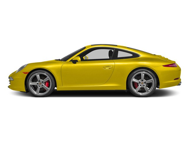 Racing Yellow 2015 Porsche 911 Pictures 911 Coupe 2D S H6 photos side view