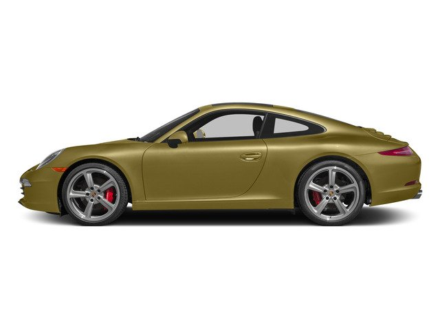 Lime Gold Metallic 2015 Porsche 911 Pictures 911 Coupe 2D S H6 photos side view