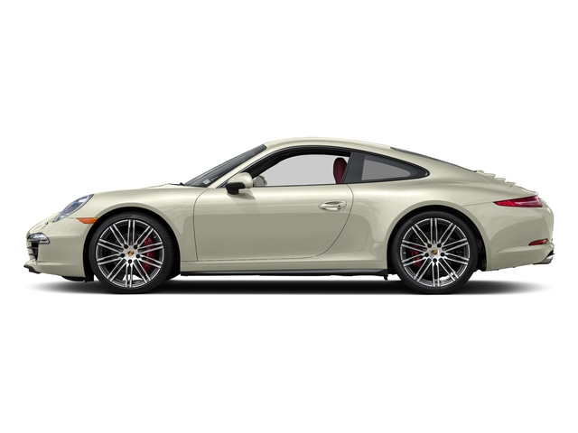 Carrara White Metallic 2015 Porsche 911 Pictures 911 Coupe 2D 4 Targa AWD photos side view