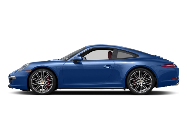 Sapphire Blue Metallic 2015 Porsche 911 Pictures 911 Coupe 2D 4 Targa AWD photos side view