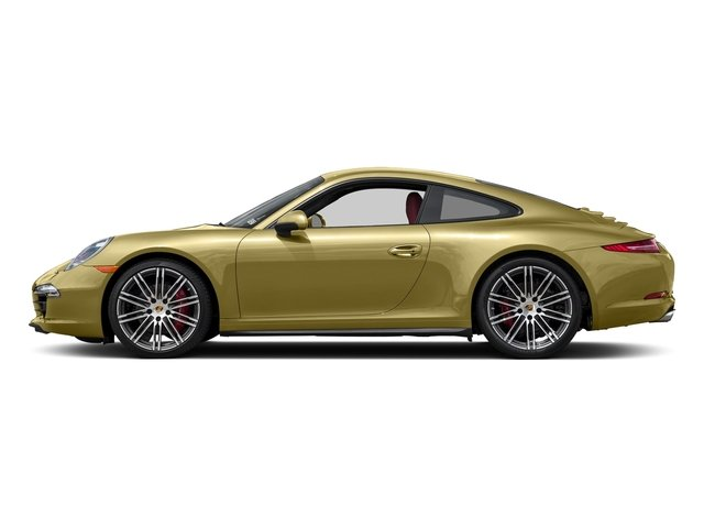 Lime Gold Metallic 2015 Porsche 911 Pictures 911 Coupe 2D 4 Targa AWD photos side view