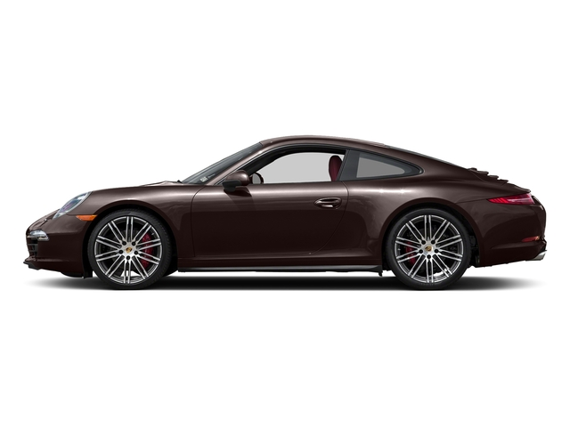 Mahogany Metallic 2015 Porsche 911 Pictures 911 Coupe 2D 4 Targa AWD photos side view