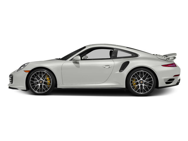 White 2015 Porsche 911 Pictures 911 Coupe 2D Turbo S AWD H6 photos side view