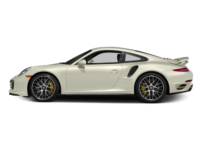 Carrara White Metallic 2015 Porsche 911 Pictures 911 Coupe 2D Turbo S AWD H6 photos side view