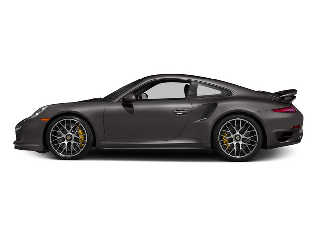 Anthracite Brown Metallic 2015 Porsche 911 Pictures 911 Coupe 2D Turbo S AWD H6 photos side view