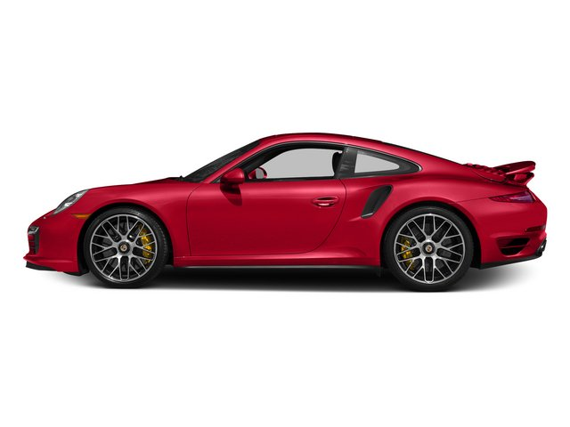 Guards Red 2015 Porsche 911 Pictures 911 Coupe 2D Turbo S AWD H6 photos side view