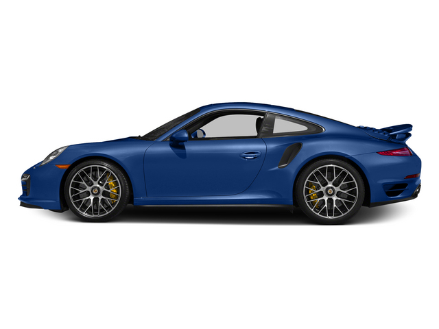 Sapphire Blue Metallic 2015 Porsche 911 Pictures 911 Coupe 2D Turbo S AWD H6 photos side view