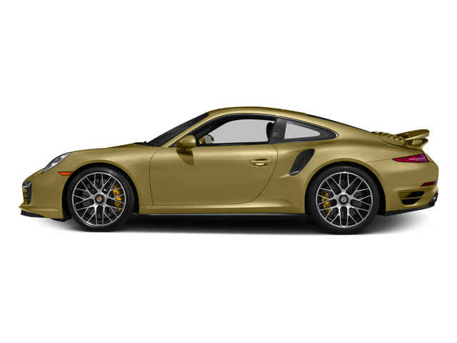 Lime Gold Metallic 2015 Porsche 911 Pictures 911 Coupe 2D Turbo S AWD H6 photos side view