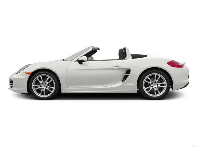 White 2015 Porsche Boxster Pictures Boxster Roadster 2D H6 photos side view