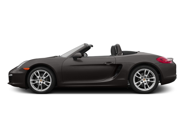 Anthracite Brown Metallic 2015 Porsche Boxster Pictures Boxster Roadster 2D H6 photos side view