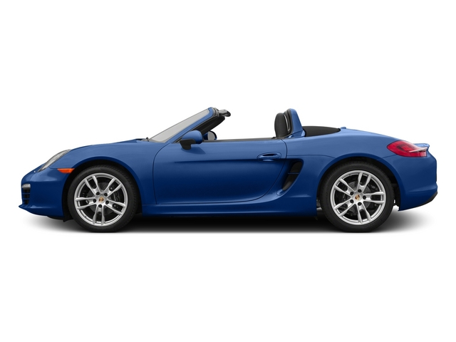 Sapphire Blue Metallic 2015 Porsche Boxster Pictures Boxster Roadster 2D H6 photos side view
